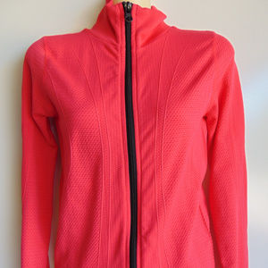 NEW Lorna Jane Fitted Full Zip Bright JACKET XS/S